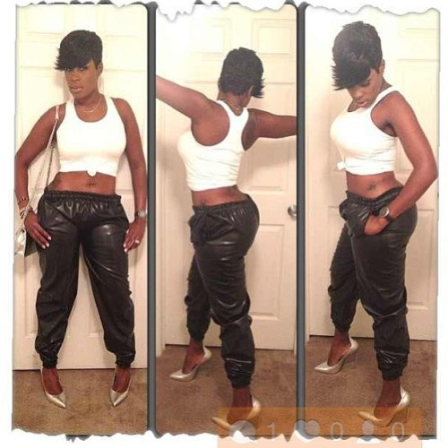 @sumraine killin the leather sweats they are $150 email tylajuan@gmail.com to preorder yours