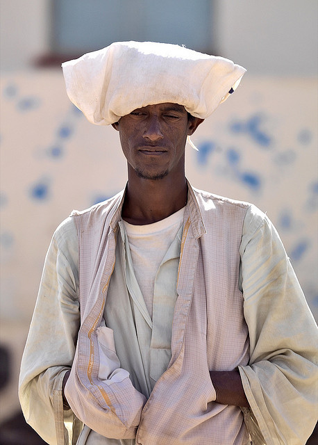 simonfoxton:  Man in Keren, Eritrea by Eric Lafforgue on Flickr.