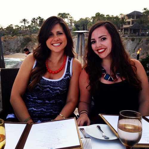 Fancy dinner with @natstak! #cabo #mysterytrip  (at Cocina Del Mar)
