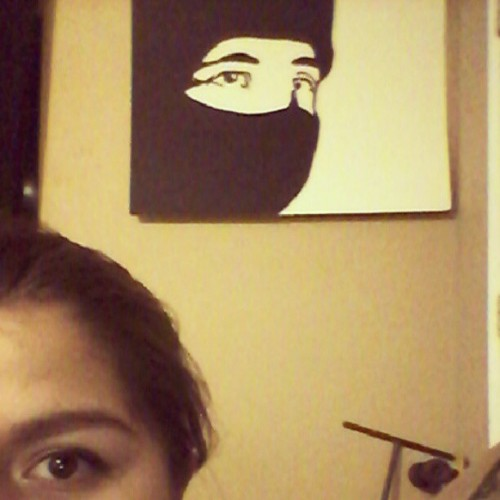 Supposed to be a Zapatista,  but he looks more like a ninja to me…
