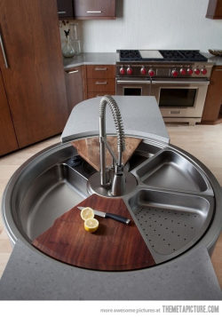 srsfunny:  Awesome rotating sink…http://srsfunny.tumblr.com/