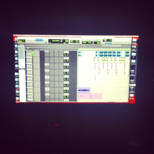 #Sessions #ProTools me & @enertiamuzik still goin HAM in da yo #AcedUp #sway #greedy #sweetrevenge