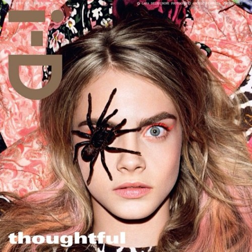 My Idol #caradelevingne #eyebrows #idmagazine #fashion