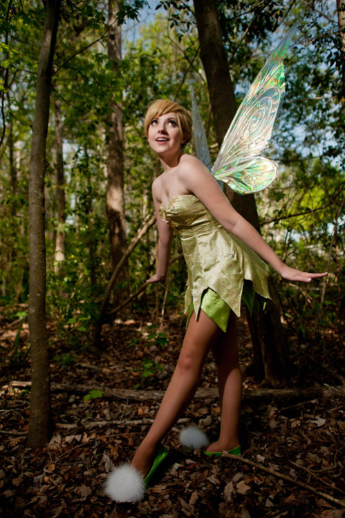 oh hey! this is my tink cosplay! so excited to see this awesome shot!! X)
