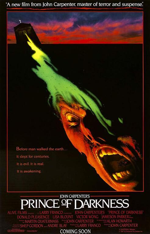 #horror - #HorrorHistory - #PrinceofDarkness -  10/23/1987: Prince of Darkness was released in theaters This story centers on a Catholic priest who discovers a gelatinous fluid that he believes is the source of power for the anti-Christ that is about to attack an unsuspecting world. BUY IT NOW! Steelbook DVD WATCH IT NOW! Amazon Prime #horror#Horror History#ad