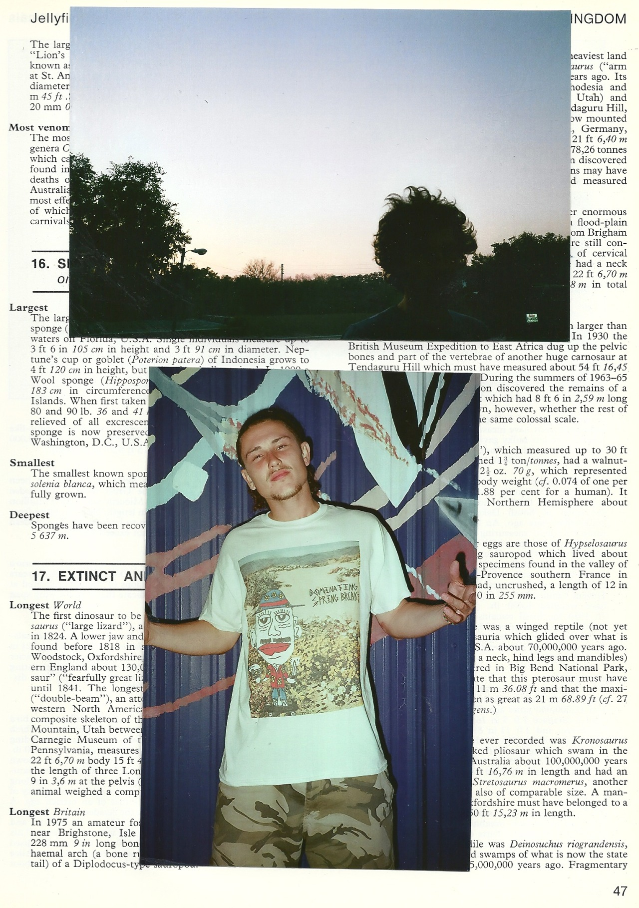 PG.3. CASH GADDES IN THE DOMINATING SPRING BREAK TEE.