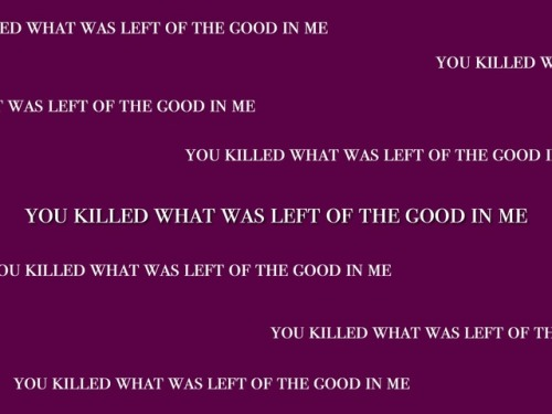 A Day To Remember Lyrics Tumblr a day to rememb...