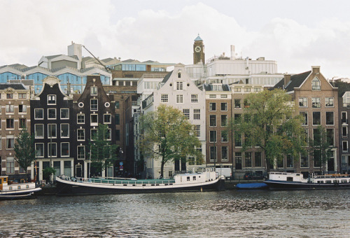 ysvoice:  | ♕ |  Canal houses of Amsterdam  | by © Nastasiya-k