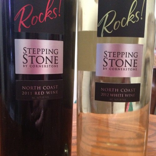 Really digging the new labels on the latest @SteppStoneRocks wines. Can't wait to open these up soon and share them with you on my blog. #wine #winegeek