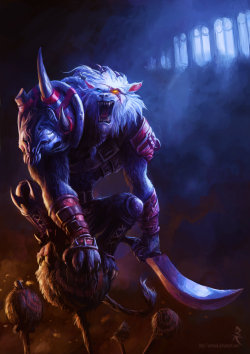 Rengar, Digi-Art Throwdown (League of Legends) by ~Artomsk —-x—- More: | Games | Random |