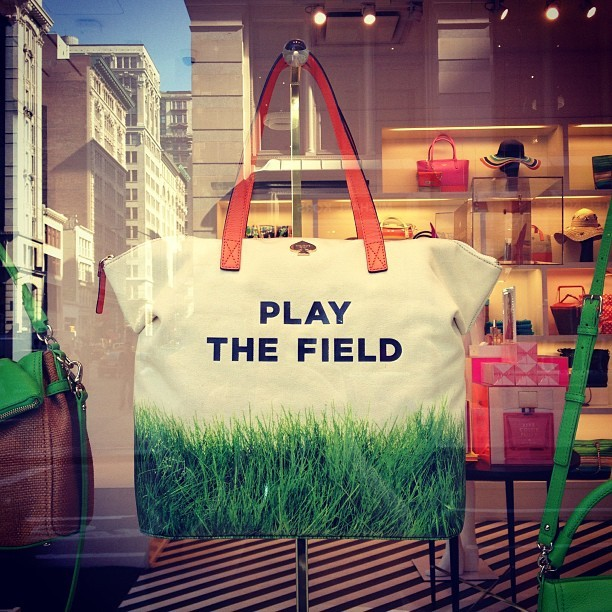 luckymag:  Cute, @katespadeny.  (at Kate Spade New York)