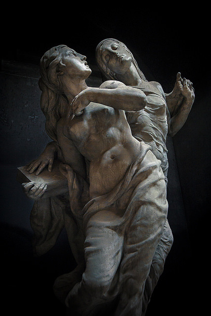 statues-and-monumentsyou, who are more beloved to your sister than the light by gh0stdot Monumental Cemetery of Staglieno, Staglieno, Genoa, Italy
