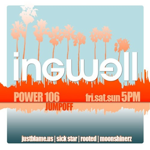 Aw yeeee! @djingwell #power106 jump off mix playing this weekend starting today at 5pm! Tune in!