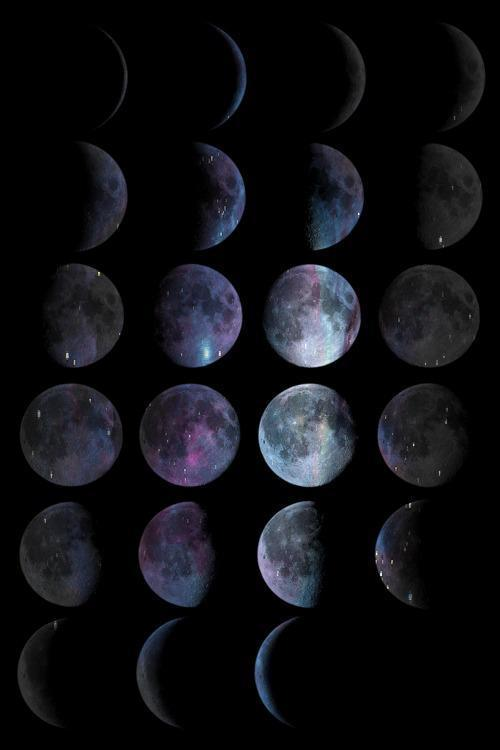 nzafro:  Moon phases.