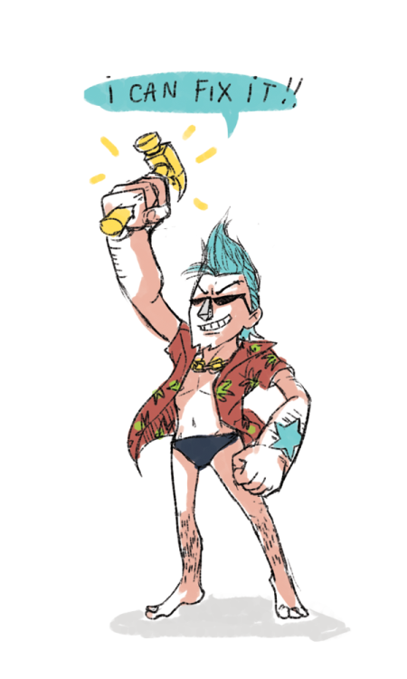 op-shc:  Franky is like Ralph and Felix all rolled up into one.