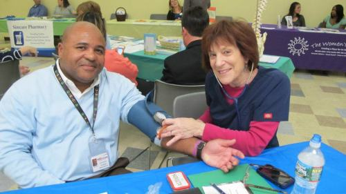 The Arc of Atlantic County kicked off their first Health Fair as part of The Arc's HealthMeet program today. Free health assessments for people with I/DD are offered by appointment. The Arc of Atlantic County is one of five chapters across the country piloting this innovative program to improve the health of people with I/DD. See The Arc of Atlantic County's Health Fair album for more photos.