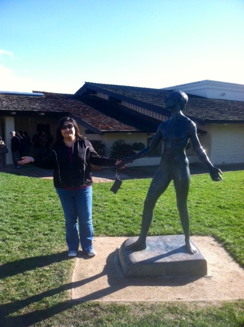 Flashback Friday - Yesterday at the Robert Mondavi Winery There are days that I have a hard time seeing my progress. I look in the mirror & I'm more critical of myself now that I'm more aware of my body. When my friend sent me this picture, I was surprised at how I looked. While I still have ways to go, I'm happy & proud with where I am today.