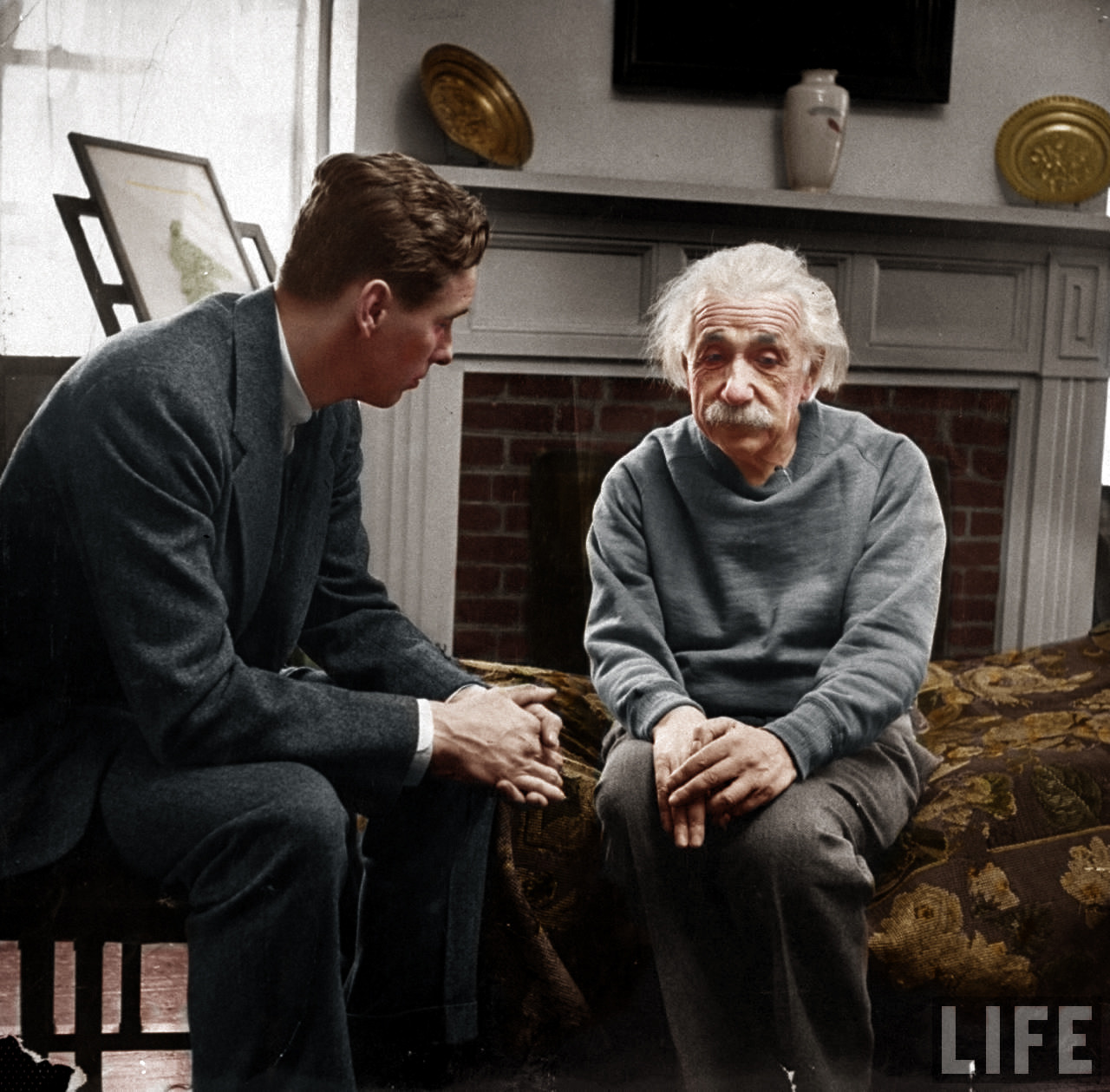 capecodcollegiate:   Einstein & his therapist