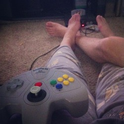 This is how we roll. #N64 #lazysunday