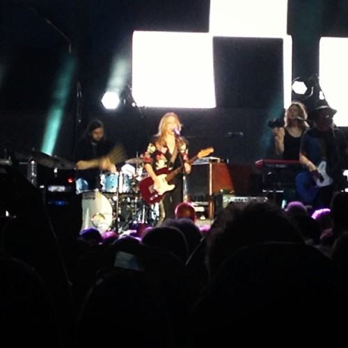 I met Sheryl Crow when I was 20. Now we live in the same city.  (at Music City Center)