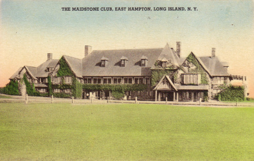 "Vintage postcard of ""The Maidstone Club, East Hampton, Long Island, N.Y."""
