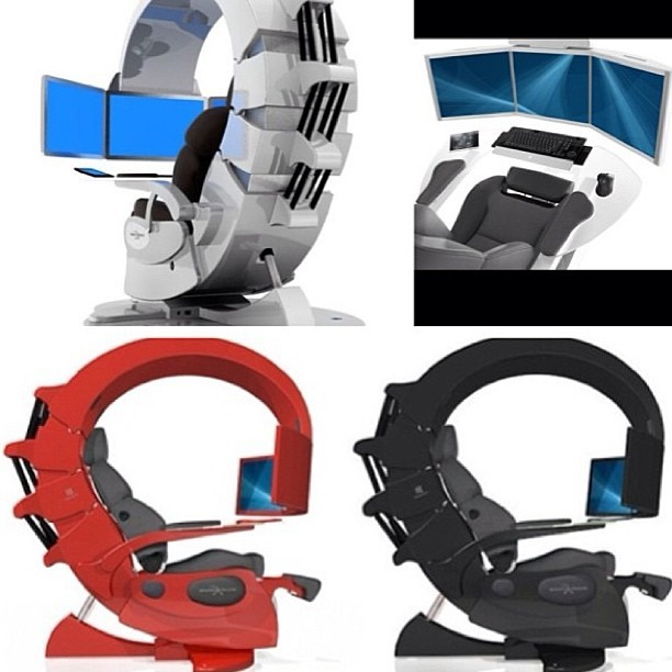 Interesting gaming chair