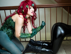 willrepost:  Ummm…. what is going on here?   Poison Ivy Style.