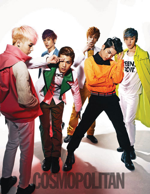 Teen Top - Cosmopolitan Magazine Photo (1)