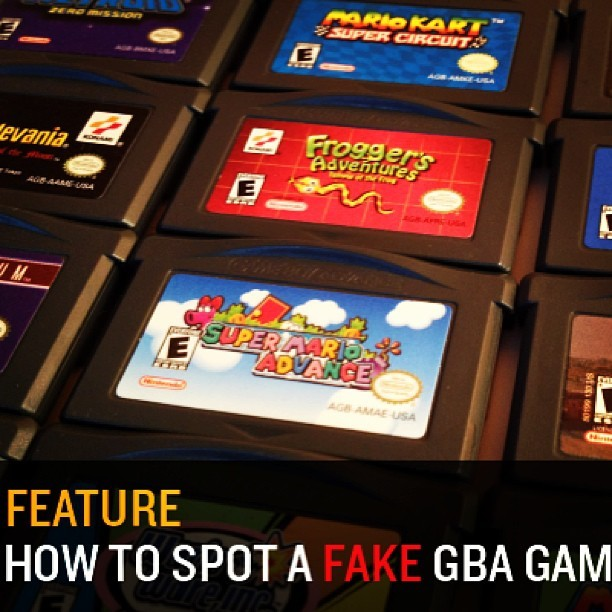 Hey all! Click to see the video I made to help you spot fake GBA games! Made this after a horrible #zelda experience on eBay. Enjoy! #ninstagram #nintendo #nintendolife #gameboy #videogames  http://bit.ly/16MPxuj / on Instagram http://bit.ly/ZFs9zD