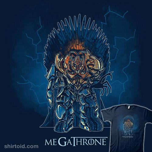 Mega-Throne by Harantula is $10 today only (3/14) at Shirt Punch