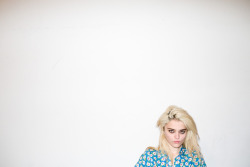 terrysdiary:  Sky Ferreira at my studio #4