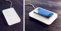 Inductive charger & wake-up light concept | Acrylic exercise