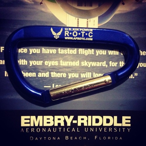 Just got back from the college fair in Boston #Embry-Riddle #AirForce #ROTC #Pilot