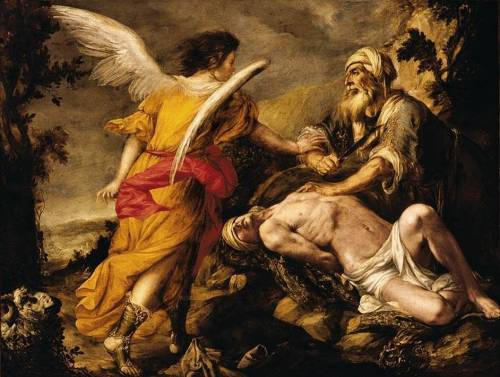 colourthysoul:  Juan de Valdés Leal - The Sacrifice of Isaac (1657-1659)