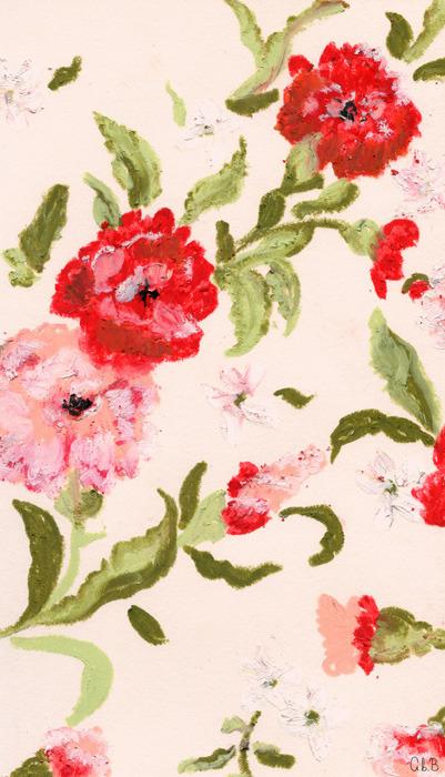 aimeebeebrooks:  floral pattern