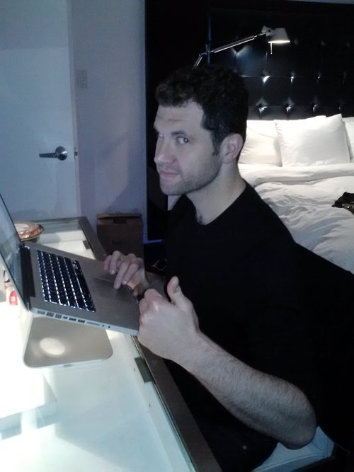 Billy Eichner's Twitter Takeover Billy Eichner is taking over our twitter account RIGHT NOW to talk to you! Tweet questions for him @funnyordie and read his answers here.