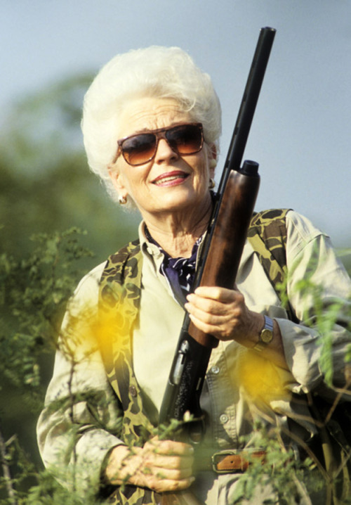 Texas is the best. Because Ann Richards. Ann Richards, you guys.