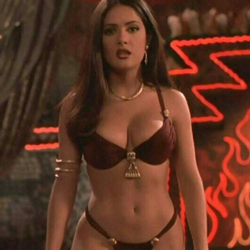 Salma Hayek in From Dusk Till Dawn, one word #Goddess …that movie never gets old! 👌