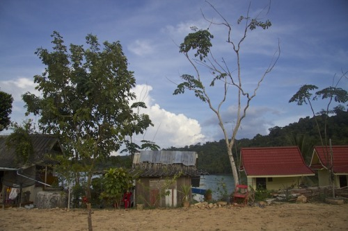 A small fishing village on Koh Kut