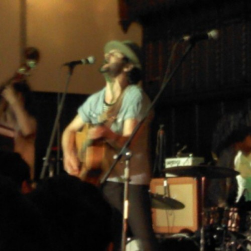 Langhorne Slim kicked some butt earlier tonight