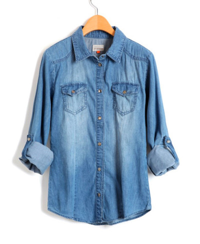 sh4ily:  denim shirts-check it out!