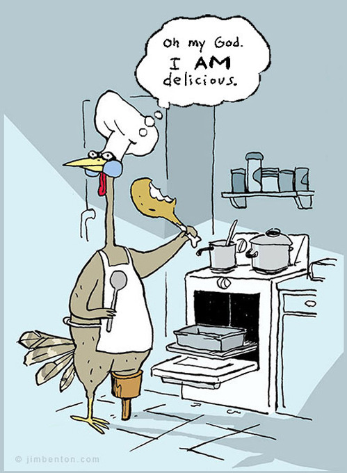 Sent to us by someone with an equally-skewed sense of humour. #thanksgiving#delicious#weird shit