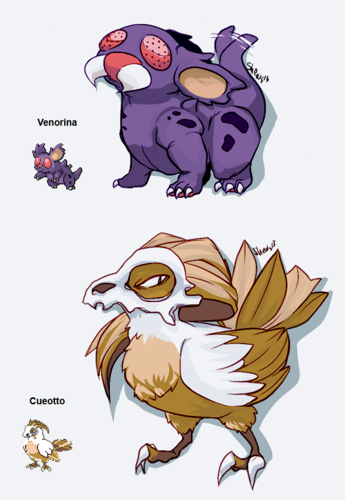 shewinki:  I fused some pokes
