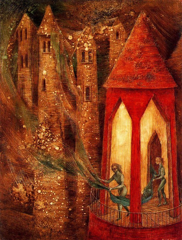 labellefilleart:  The Task, Remedios Varo