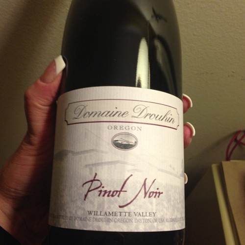 One of my fave #Oregon Pinots for #WineWednesday '10 @drouhinoregon Pinot Noir. #wine #orwine #oregonwinemonth #winegeek