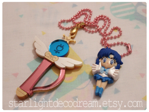 Sailor Mercury Crystal Change Rod | Starlight Deco Dream