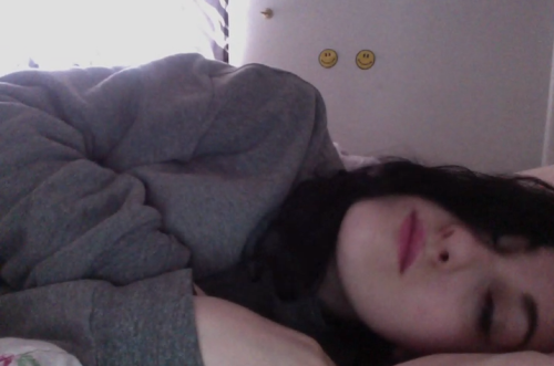 this morning I woke up next to my laptop with photo booth open