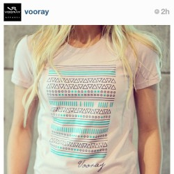 Seriously how can you not want this fab tee from #vooray?? I'd probably wear it to work every day! #obviouslyidwashit