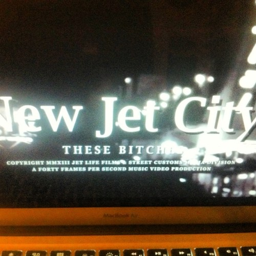 Said she on a pill an she rollin' daawggg @spitta_andretti #newjetcity #frenchmontana
