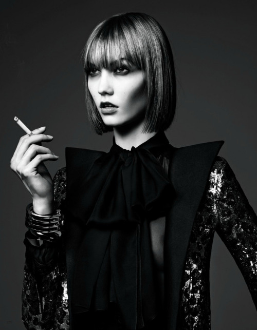 maryjopeace:  HEDI SLIMANE | KARLIE KLOSS | VOGUE JAPAN | JUNE 2013